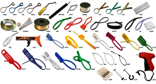 Hang Tabs, Clip Strips, Plastic Hooks, Cable Ties & Security Fasteners